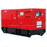 produzione di energia insonorizzata del motore diesel di 66kVA Doosan