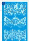 Merletto largo ordinario per vestiti/indumento/pattini/sacchetto/caso 3156 (larghezza: 7cm)