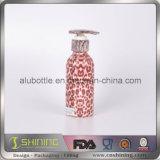 o cosmético 300ml de alumínio desnata o frasco de empacotamento