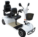 Vierrad800w Brush Travel Scooter mit Double Seat