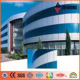 El panel de aluminio compuesto del producto profesional de la fábrica PVDF ACP de Guangdong