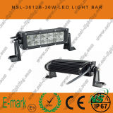 7inch 36W DEL Work Light, 3060lm éclairage LED Bar, éclairage LED Bar de 3W Creee pour Trucks