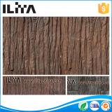 Material cerâmico de pedra de madeira artificial de Buildiing da telha da parede (24011)