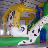 Bouncer inflável do campo de jogos da ligação em ponte dos miúdos (BJ-B04)