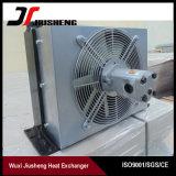 Refrigerador de petróleo hidráulico da máquina escavadora da placa da barra