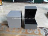 Серый цвет Высок-Торгует оптовой коробкой ювелирных изделий Lettherette