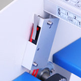 machine de papier Creaser électrique de dépliant de 3in1 460mm perçant se plisser