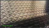 Folha de borracha antiderrapante, esteira redonda densa da borracha da tecla