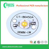 PCB haute puissance à base d'aluminium pour éclairage LED.