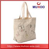 ショッピングのための昇進のEcoによって再使用される有機性綿のキャンバス袋