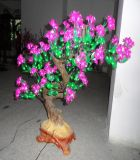 [ي] 18 [س/روش/] 2 سنون كفالة لون قرنفل لون [لد] كرز [تري/لد] [شرّي بلوسّوم] شجرة ضوء مع [إيب65]