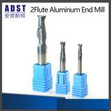 2flute Cutter Aluminum End Mill Ferramenta de corte para máquina CNC