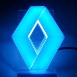 4D LED Selbst-LED Emblem des Auto-Aufschriftbeleuchtung-hinteren/rückseitigen Auto-Abzeichen-Licht-für Renault
