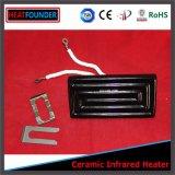 Tipo radiadores infravermelhos cerâmicos feitos sob encomenda da fonte elétrica de 122*60mm