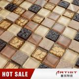 Mosaico del marmo di colore della miscela dell'artista di Foshan e di cristallo