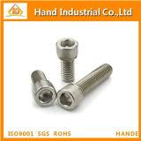 Inconel 718 2.4668 tornillo de casquillo del socket del estruendo 912 de la alta calidad N07718