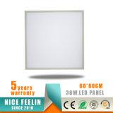 Ugr<19, 36W 620*620mm 110lm/W LED Instrumententafel-Leuchte
