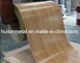 Bobine en acier galvanisée en bois de zingage de configuration