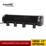 barre de forte intensité de la barre DEL d'éclairage LED de faisceau d'endroit 180W
