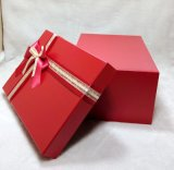 Empaquetage de papier de vêtement/cravate/vêtement/chemise/écharpes de cadre de cadeau