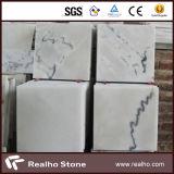 Telha de mármore de pedra branca barata de Guangxi