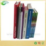 Serviço de impressão personalizado do livro do livro encadernado da cor de Cmyk (CKT-BK-820)