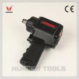 """3/8 """" llave inglesa de impacto gemela del aire del martillo (HN-2040)"""