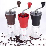Amazone Hotsale Portable Céramique Core Handshaking Bouteille en verre Moteur manivelle Moule à café