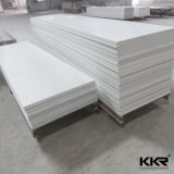 Kingkonree blanca superficial sólida de acrílico piedra artificial