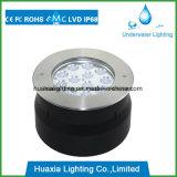 lumière sous-marine de fontaine de piscine de 316ss 36watt IP68 DEL