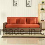 Sofà domestico del salone del blocco per grafici di legno del sofà del tessuto (UL-NS075)