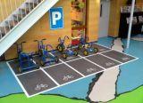 Zoll-hoch entwickelte Fußboden-Beschichtung-farbenreiche Innenfußboden-Grafiken und Abziehbilder