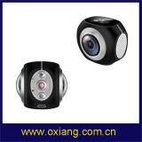 Pano360 verdoppeln Objektiv WiFi Sport-Vorgangs-Kamera