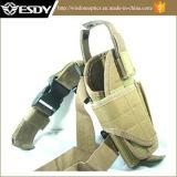 Acu de nylon militar táctico ajustable de la pistolera de la pistola de la pierna de la gota