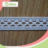 Cordón africano del algodón de los accesorios de la ropa para la alineada de partido de las muchachas