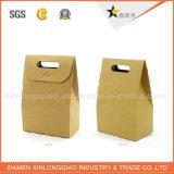 Alta calidad barato que recicla la bolsa de papel durable de Kraft para las compras