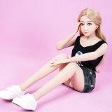 poupée de sexe de 140cm avec le jouet normal de sexe de silicones