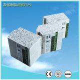 Hogares de la casa prefabricada del panel de pared de emparedado del cemento del material de construcción de Lastest EPS