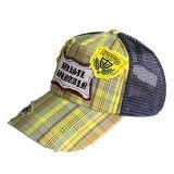 革ラベルのトラック運転手の帽子(JRT082)