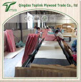 1250 * 2500 * 21mm Dynea Brown Film Faced Plywood / WBP Glue / AAA Grade