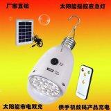 Emergency Solar LED-lamp met afstandsbediening en zonnepaneel 2W