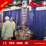 200L 500L Distillateur van de Pot van de Wodka van de Alcohol van het Koper van 1000L de Rode nog