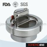 ステンレス鋼の衛生締め金で止められた終わりのサイトグラス(JN-SG2010)