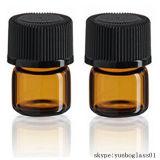 [5مل] عطر خضراء قنينات زجاجيّة مع قطّارة زجاجيّة