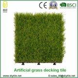 Azulejos sintetizados al aire libre de la cubierta de la alfombra de la hierba del precio bajo