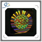 Tarjeta de PVC con película de superposición de holograma