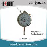 датчик индикатора с круговой шкалой 0-0.5in с поднимаясь рукояткой