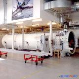 autoclave d'espace de 3000X12000mm pour corriger la fibre de carbone (SN-CGF30120)