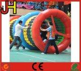 Heißer Verkaufs-aufblasbares Walzen-Kugel-Spielzeug für Sport-Spiel