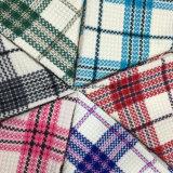 Helle Farben-Check-Wolle-Gewebe für Oberes